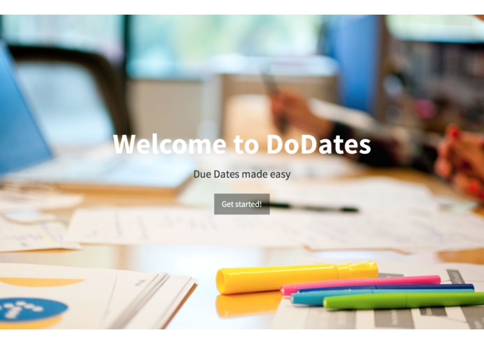 DoDates - Due Dates Made Easy  – screenshot 1