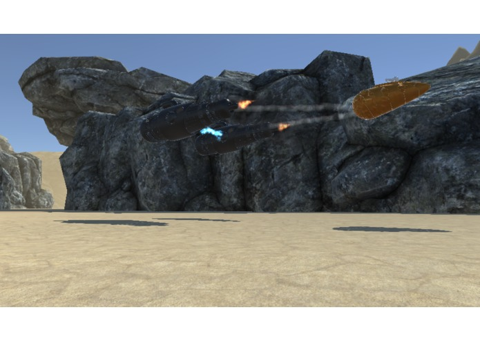 Pod Racer VR – screenshot 1