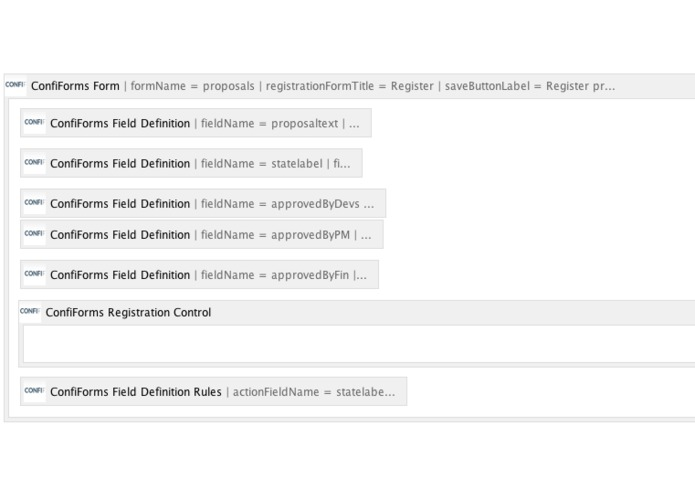 ConfiForms. Confluence Forms & Workflows – screenshot 4