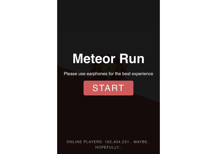 meteor-run – screenshot 1