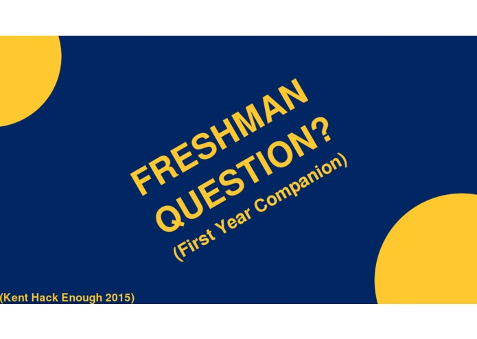 Freshman Question? – screenshot 1