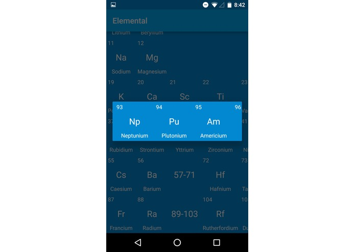 Periodic Table – screenshot 4