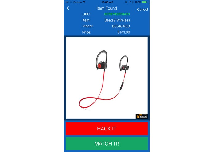 Match It! - The ultimate price matching app. – screenshot 1