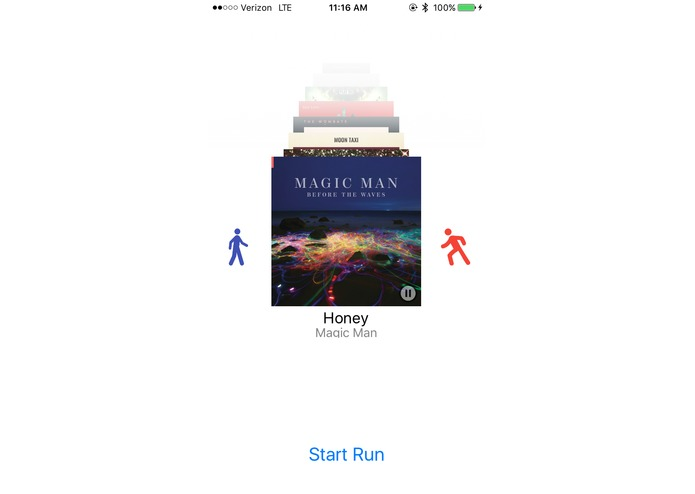RunningMusic – screenshot 1