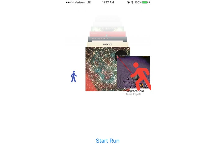 RunningMusic – screenshot 2
