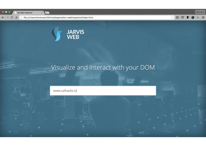 Jarvis Web – screenshot 1