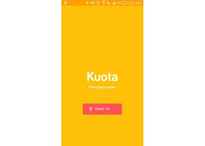 Kuota – screenshot 1