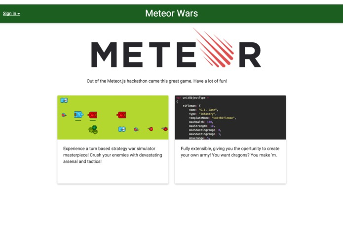 Meteor Wars – screenshot 1