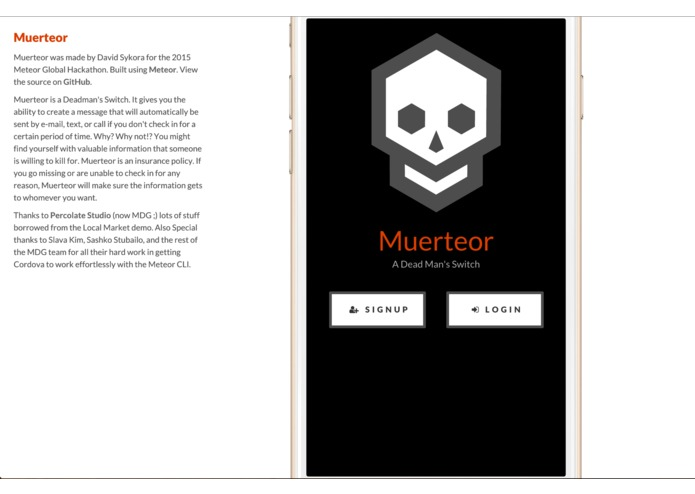 Muerteor – screenshot 1