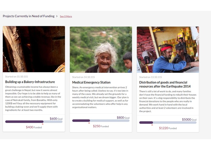 Charity-Fundraising – screenshot 3