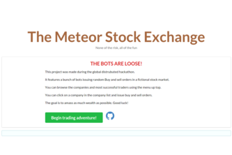 Meteor Stock Exchange