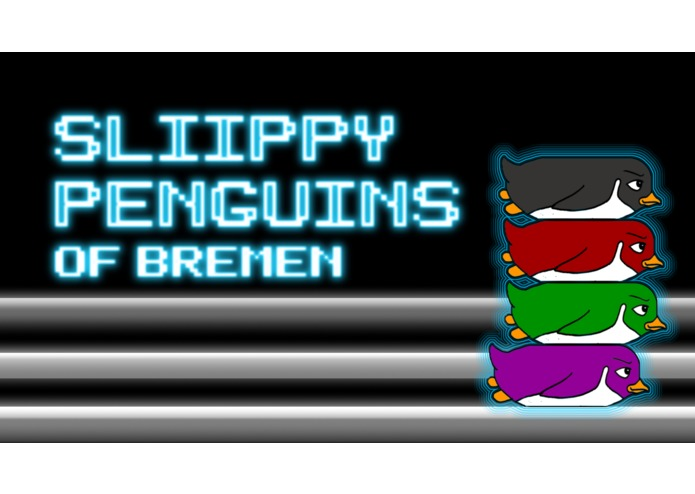 Sliippy Penguins, Niple Buttons – screenshot 1