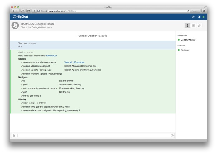 Atlassian and RAMADDA Integration – screenshot 1