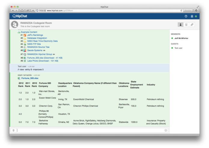 Atlassian and RAMADDA Integration – screenshot 3