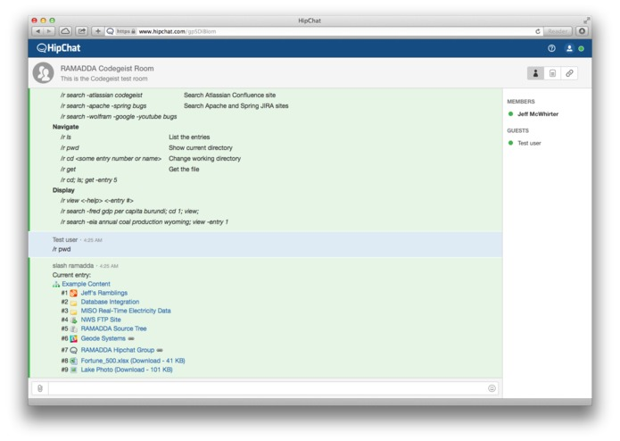 Atlassian and RAMADDA Integration – screenshot 2