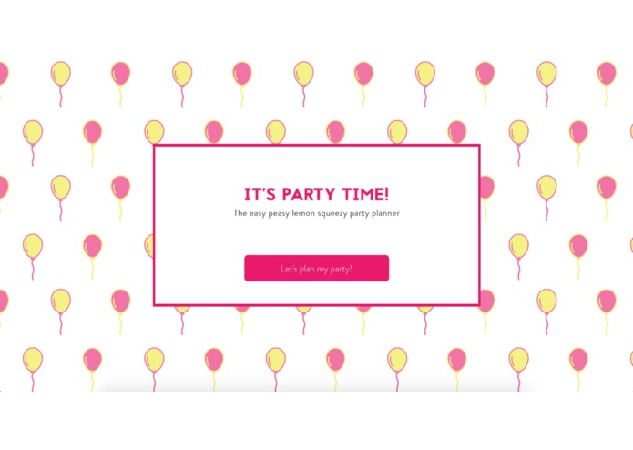 Party Planner – screenshot 1