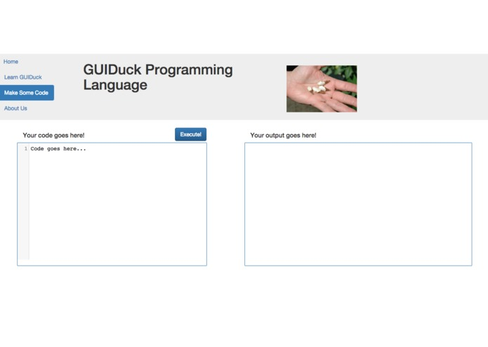 GUIDuck Programming Language – screenshot 1