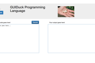 GUIDuck Programming Language