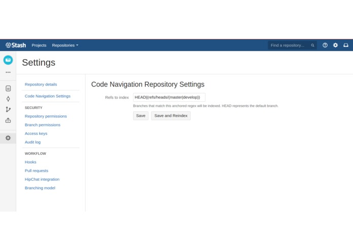 Code Navigation for Bitbucket – screenshot 2