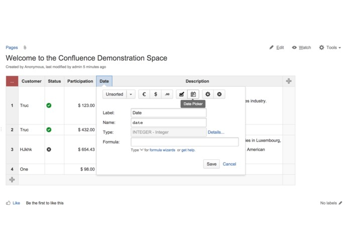 Play SQL Spreadsheets for Confluence Cloud – screenshot 3