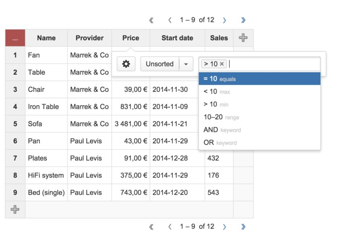 Play SQL Spreadsheets for Confluence Cloud – screenshot 4
