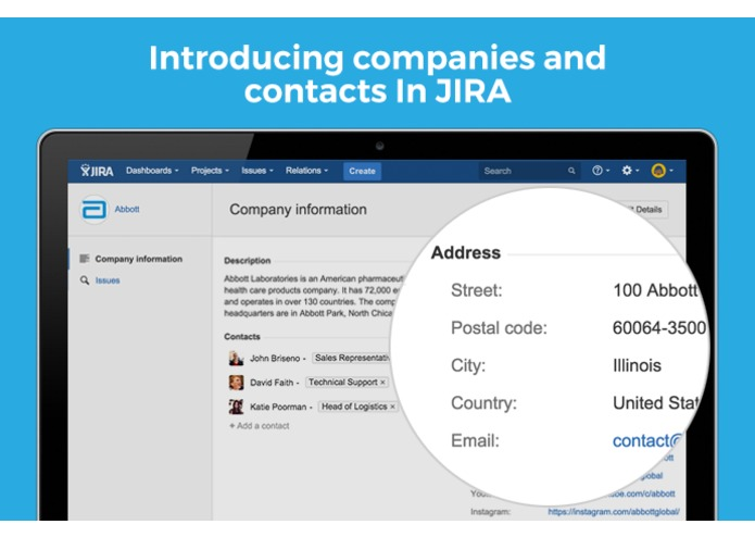 Relations for JIRA – screenshot 2