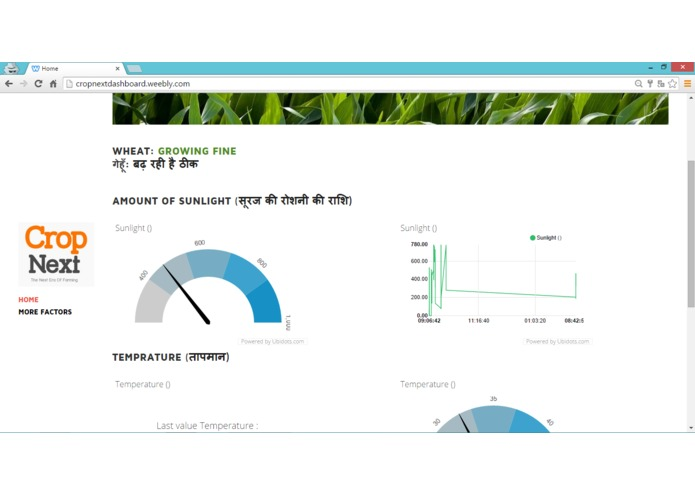 CropNext: Real Time Monitoring Of Crop Health – screenshot 2