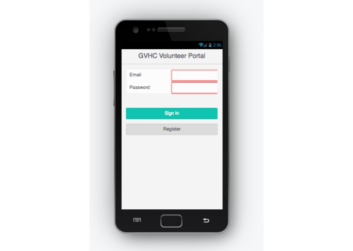 Health Center Application for Student Volunteers – screenshot 4