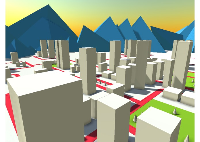 Awkward Giant Robot Urban Sandbox – screenshot 1