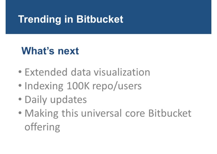 Trending in BitBucket – screenshot 8