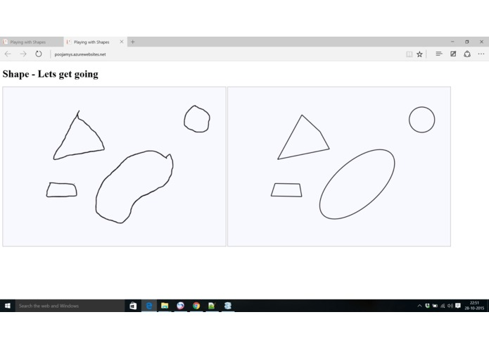 play with shapes – screenshot 1
