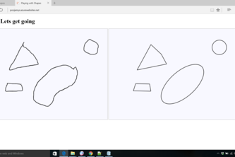play with shapes