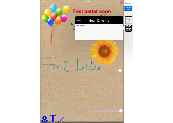 Well Wish Card – screenshot 4