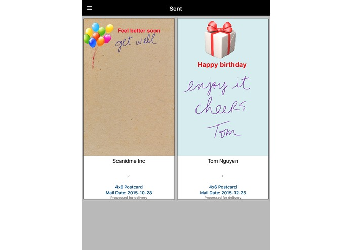 Well Wish Card – screenshot 6