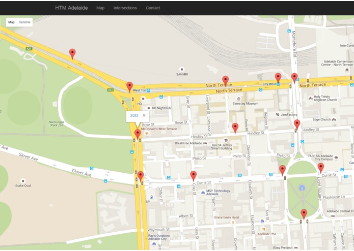 HTM for Adelaide Arterial Traffic Flow – screenshot 5