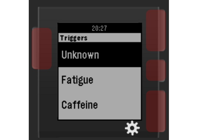 TriggerTracker – screenshot 2