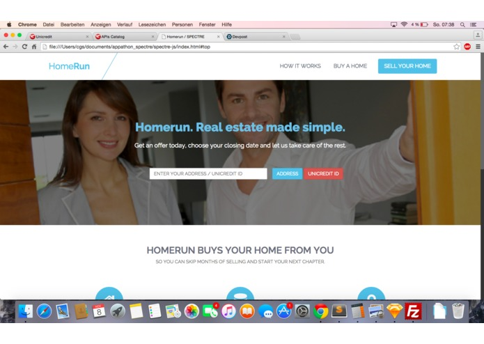 HomeRun – screenshot 1