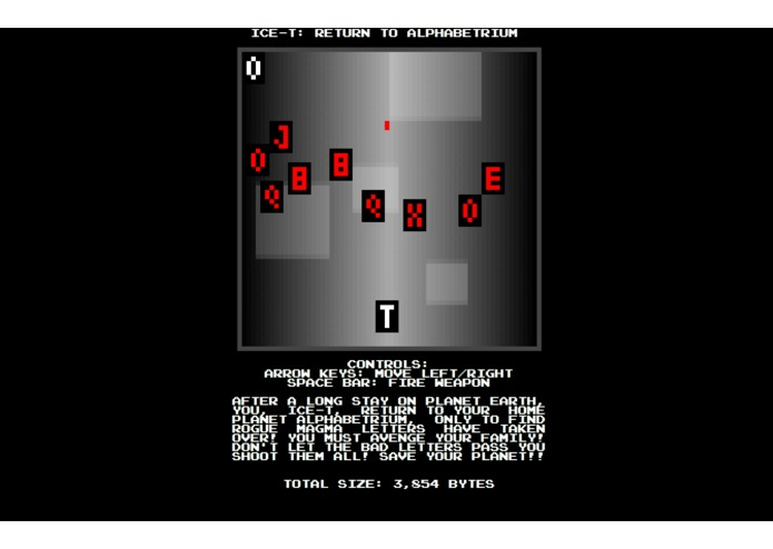 Ice-T: Return to Alphabetrium – screenshot 1