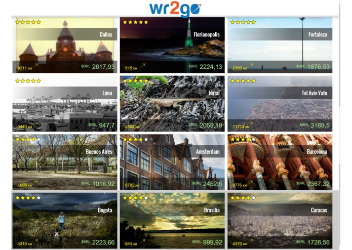 wr2go – screenshot 1