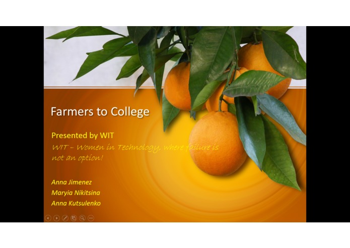 Farmers to College by WIT – screenshot 3