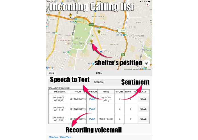 InstantCall – screenshot 1