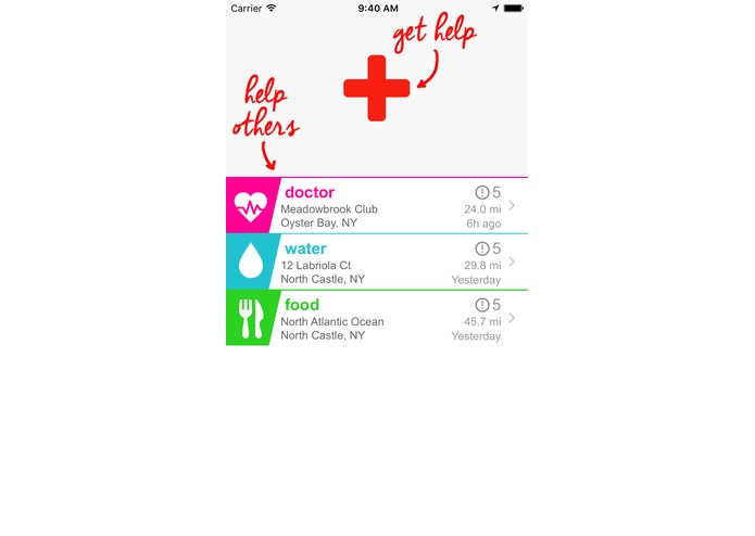 Help App for Disaster Relief – screenshot 3