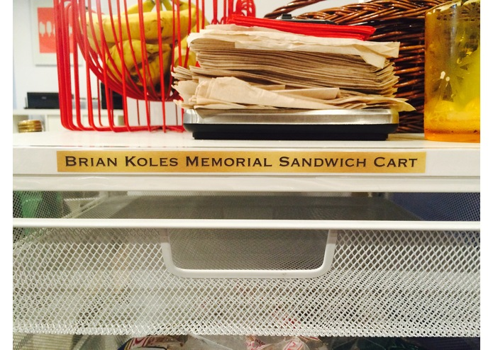 Brian Koles Memorial Sandwich Cart – screenshot 1