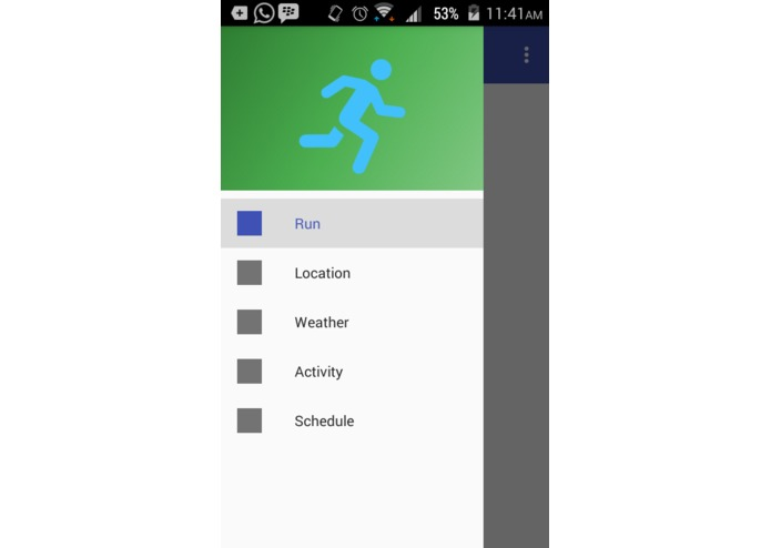 RunnerMate – screenshot 1