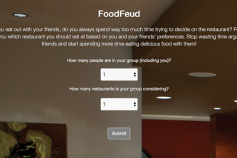FoodFeud - First-Time Hackers