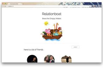 Relationboat