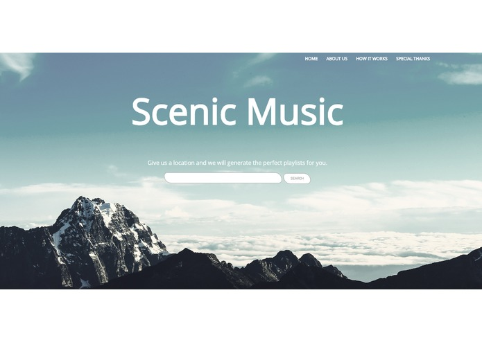 ScenicMusic – screenshot 1