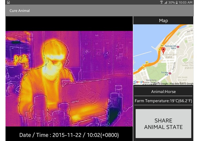 Cure Animal - Care your Animal with FLIR ONE – screenshot 3