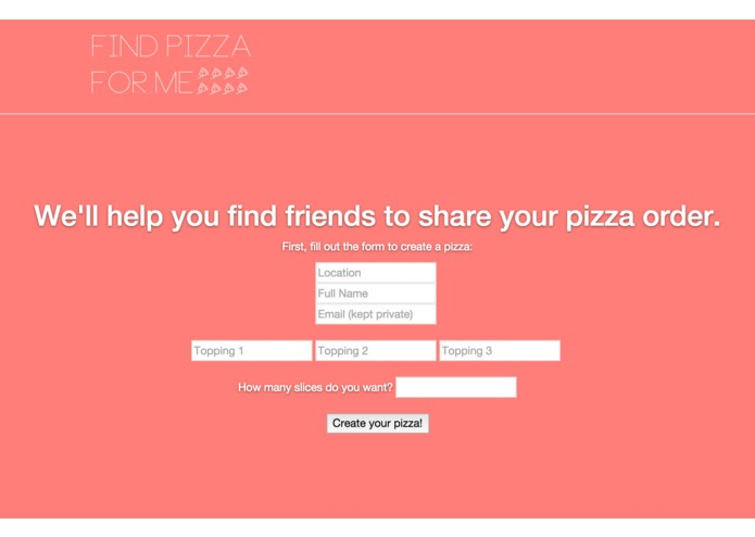 Find Pizza For Me – screenshot 2