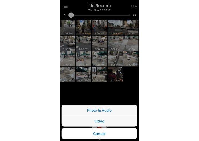 Life Recordr – screenshot 1